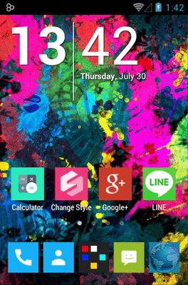 255 Square Lite Icon Pack Android Theme Image 1