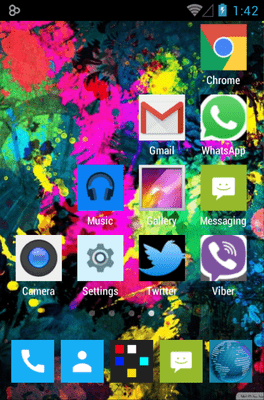 255 Square Lite Icon Pack Android Theme Image 3
