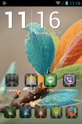 LUMEN Icon Pack Android Theme Image 1
