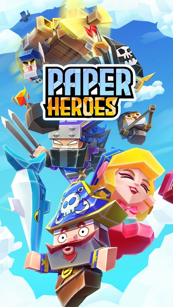 Paper Heroes Sky Pirates Android Game Image 1