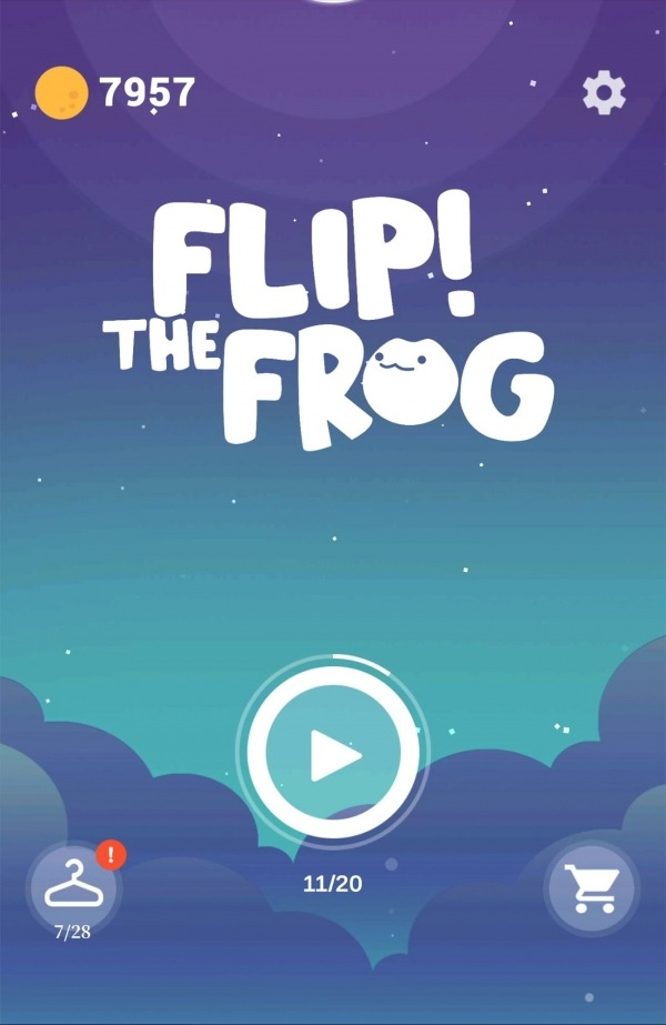 Flip! The Frog - Best Of Free Casual Arcade Games Android Game Image 1