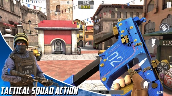 Hazmob FPS : Online Multiplayer Fps Shooting Game Android Game Image 1