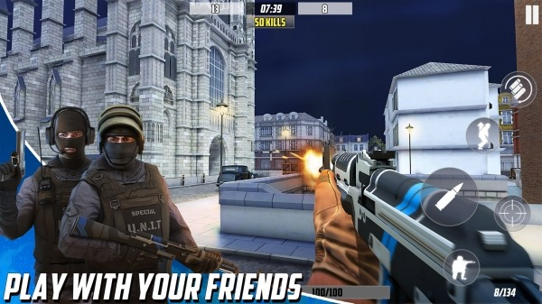 Hazmob FPS : Online Multiplayer Fps Shooting Game Android Game Image 2