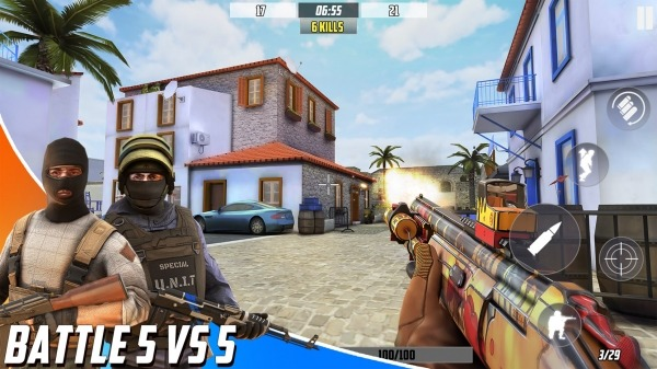 Hazmob FPS : Online Multiplayer Fps Shooting Game Android Game Image 4