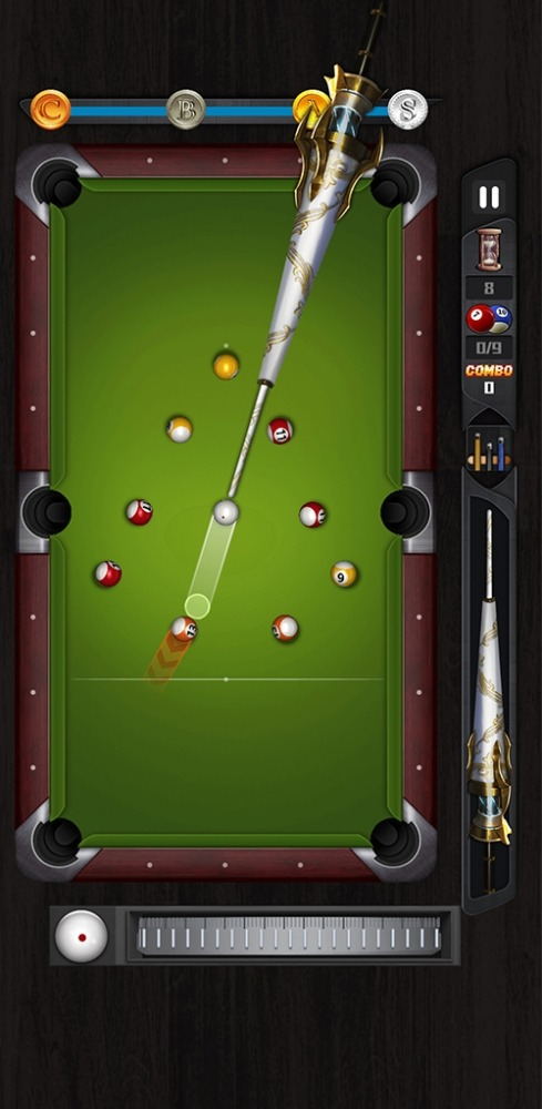 Shooting Pool-relax 8 Ball Billiards Android Game Image 1