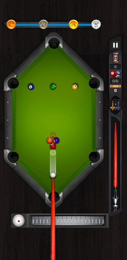 Shooting Pool-relax 8 Ball Billiards Android Game Image 2