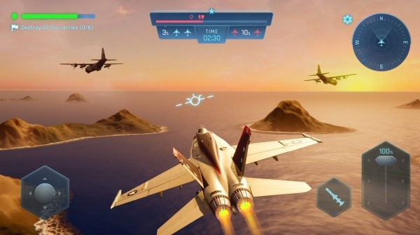 Sky Warriors: Blazing Clouds Android Game Image 3