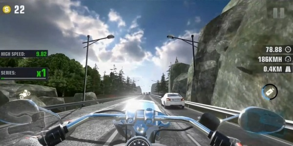 Speed Motor Dash:Real Simulator Android Game Image 1