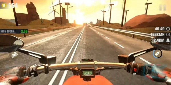 Speed Motor Dash:Real Simulator Android Game Image 2