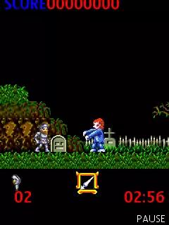 Ghosts'n Goblins Java Game Image 2