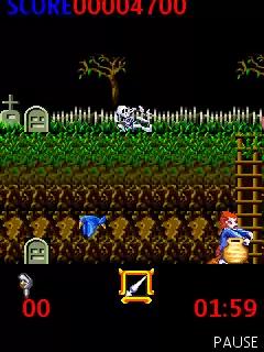 Ghosts'n Goblins Java Game Image 3