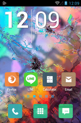 Peek Icon Pack Android Theme Image 1