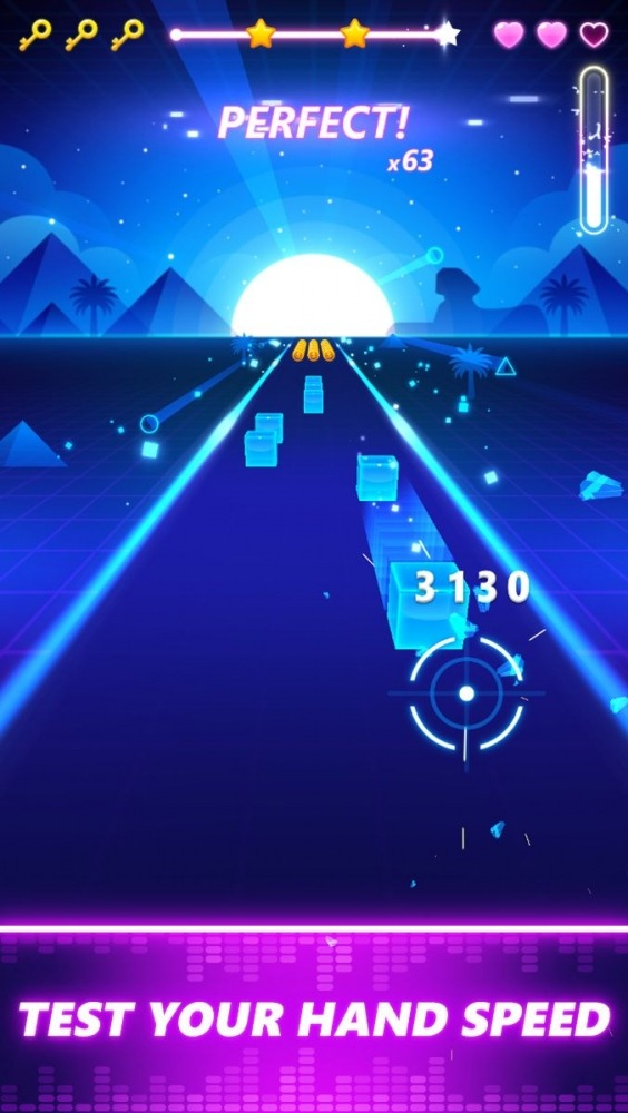 Beat Fire 3D:EDM Music Shooter Android Game Image 3