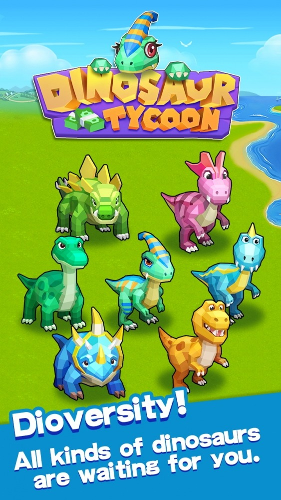 Dinosaur Tycoon Android Game Image 1