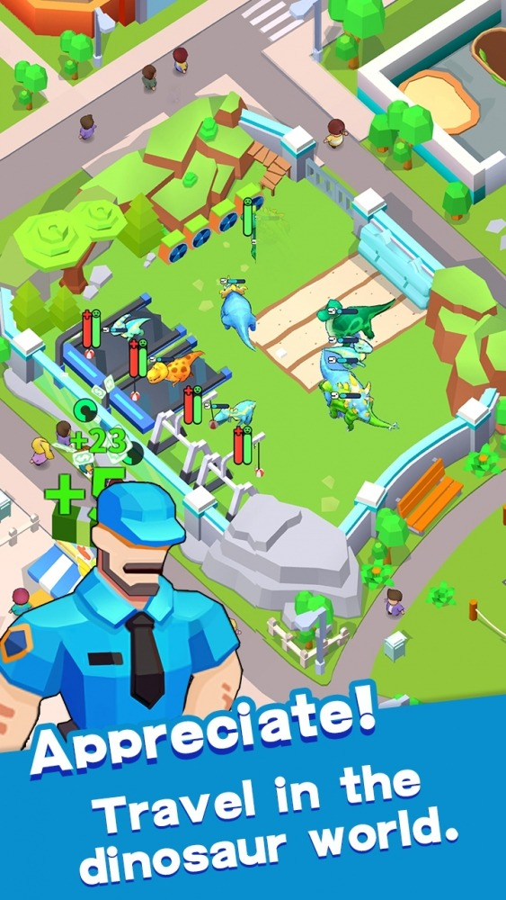 Dinosaur Tycoon Android Game Image 4