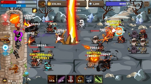 Final Castle Defence : Idle RPG Android Game Image 1