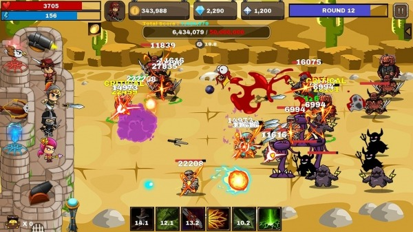 Final Castle Defence : Idle RPG Android Game Image 2