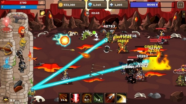 Final Castle Defence : Idle RPG Android Game Image 3