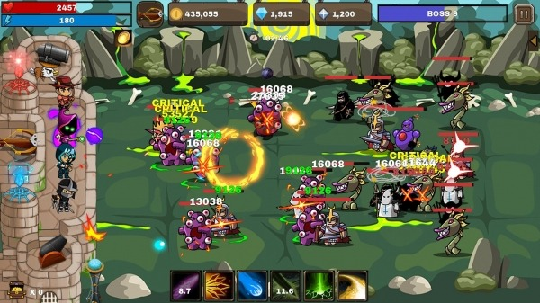 Final Castle Defence : Idle RPG Android Game Image 4