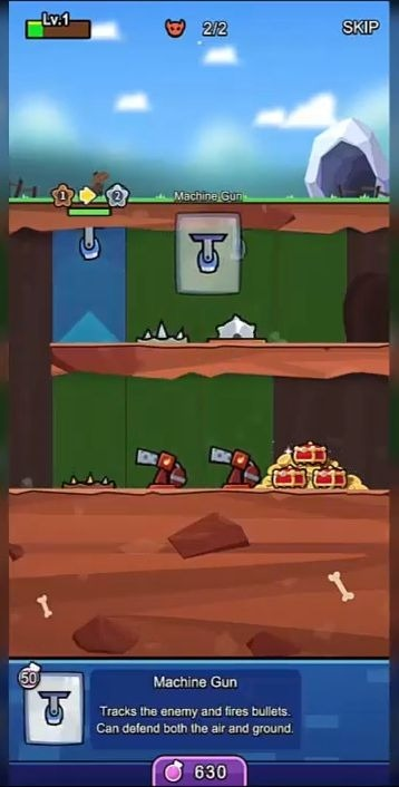 Trap Master: Merge Defense Android Game Image 1