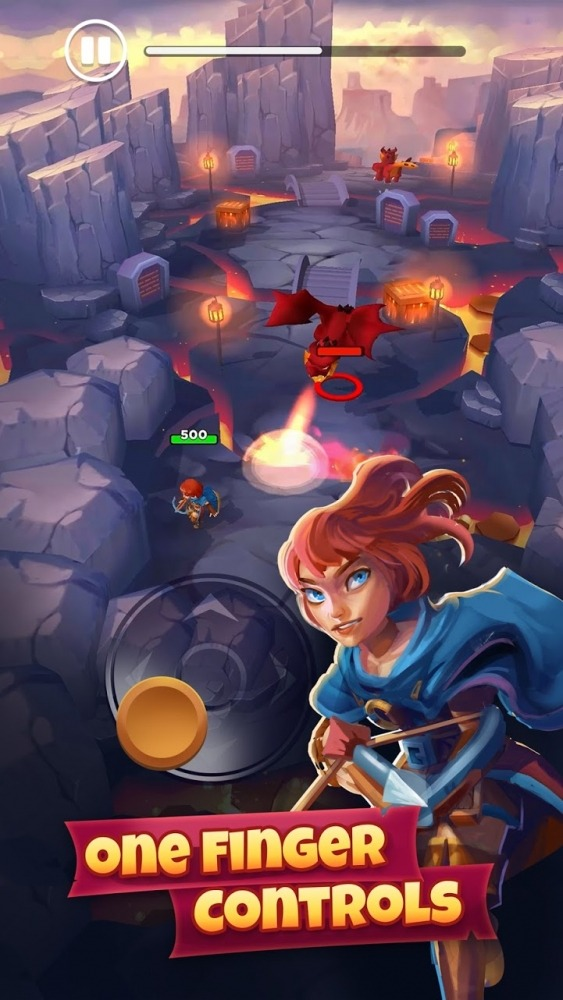 Rogue Land Android Game Image 1