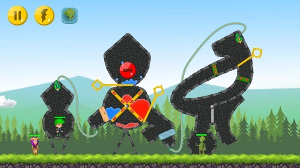 The Actual Game Rescue - Pull The Pin Android Game Image 2