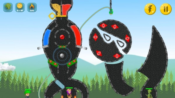 The Actual Game Rescue - Pull The Pin Android Game Image 4