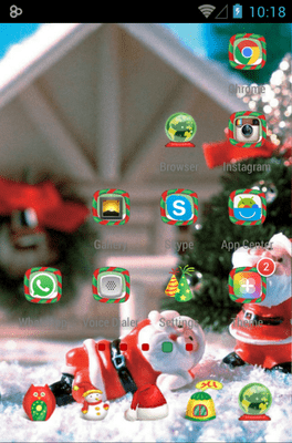 Christmas Icon Pack Android Theme Image 3
