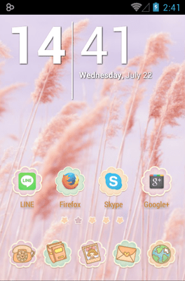 Ssonyeo Of The Sky Icon Pack Android Theme Image 1