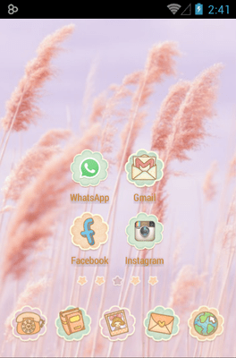 Ssonyeo Of The Sky Icon Pack Android Theme Image 2