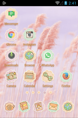 Ssonyeo Of The Sky Icon Pack Android Theme Image 3