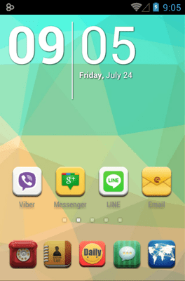 Daily Dante Icon Pack Android Theme Image 1