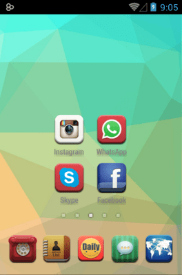 Daily Dante Icon Pack Android Theme Image 2