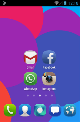 MeeUi HD Icon Pack Android Theme Image 2