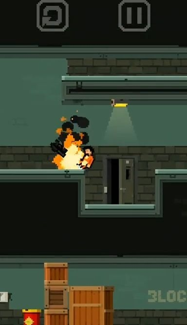 Prison Run And MiniGun Android Game Image 2