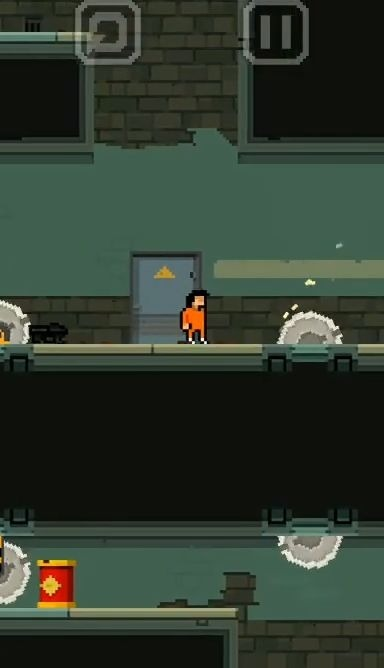 Prison Run And MiniGun Android Game Image 4
