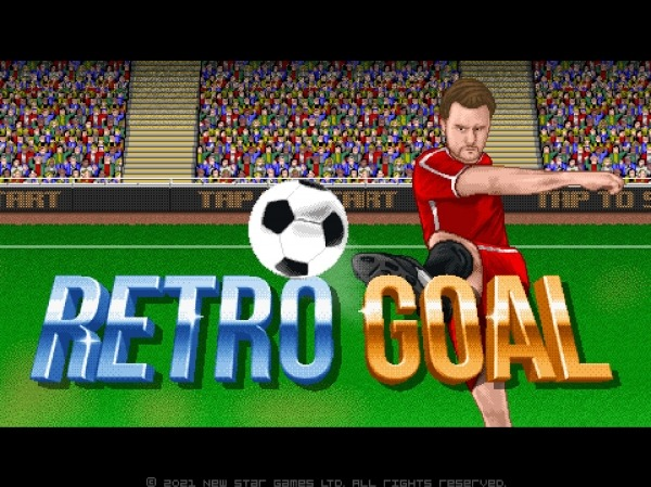 Retro Goal Android Game Image 1