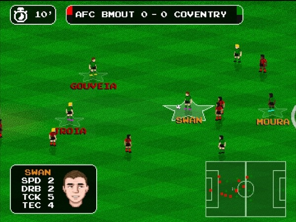 Retro Goal Android Game Image 3