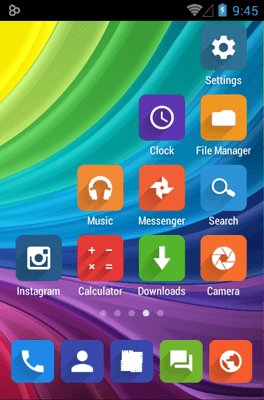 Elta Icon Pack Android Theme Image 3