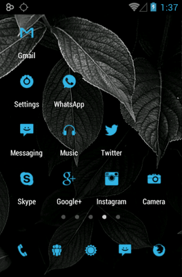 Tiny ICS Icon Pack Android Theme Image 3