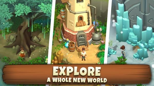Sunrise Village Android Game Image 1