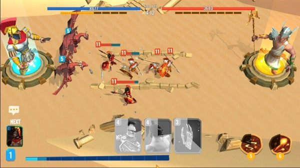 Trojan War 2: Clash Cards Game Android Game Image 3