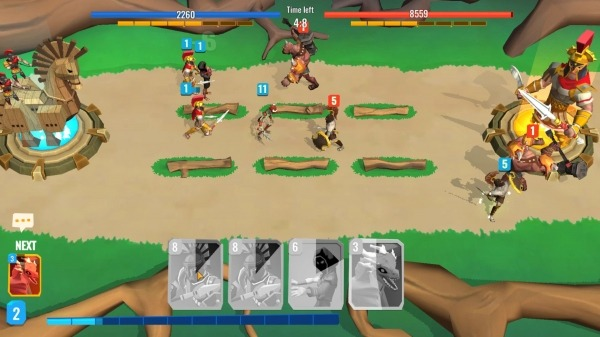 Trojan War 2: Clash Cards Game Android Game Image 4