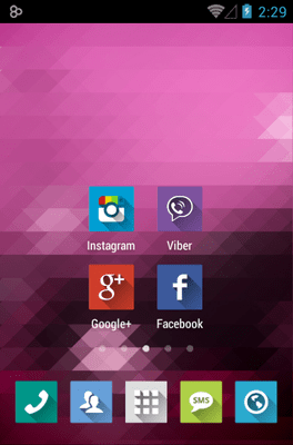 Long Shadow Icon Pack Android Theme Image 2