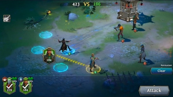 Heroes Of The Dark Android Game Image 2