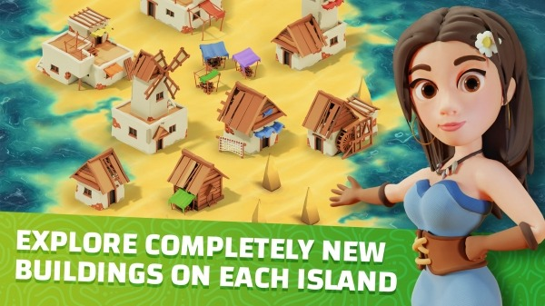 Idle Islands Empire: Building Tycoon Gold Clicker Android Game Image 1