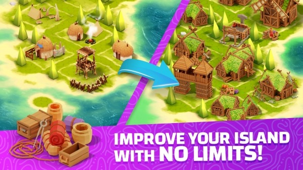 Idle Islands Empire: Building Tycoon Gold Clicker Android Game Image 2