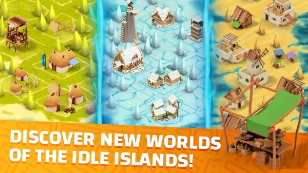 Idle Islands Empire: Building Tycoon Gold Clicker Android Game Image 4