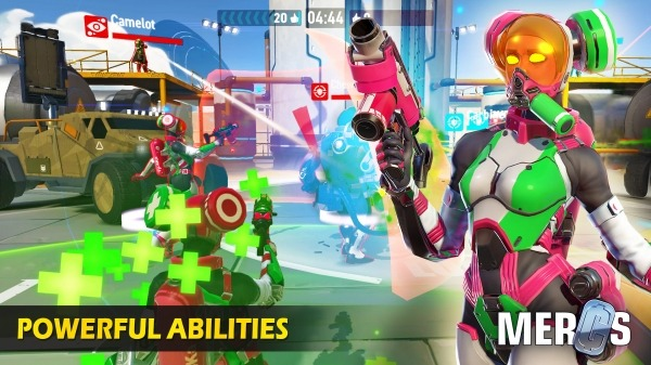 MERCS - Cyber Strike Arena. Multiplayer Shooter! Android Game Image 4