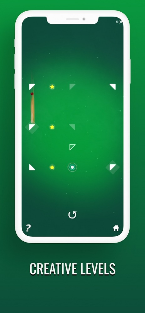 Meteorite Ball Reflection And Recoil Brain Teaser Android Game Image 3